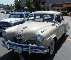 1950 Studebaker Commander 4-door sedan (D70) Tags: hatsoffday showandshine hastingsstreet burnaby britishcolumbia canada studebaker 4door sedan car 1950 commander