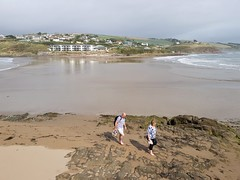 2018 0918 462 (SGS8+) Burgh Island; looking at Bigbury-on-Sea (Lucy Melford) Tags: samsunggalaxys8 bigburyonsea burgh island