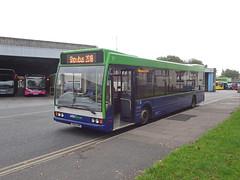 Y264DRC Meadow Road (Guy Arab UF) Tags: preserved y264drc optare excel l1180 bus donington park showbus buses 264 nottsderby trent barton
