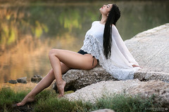 Beauty in nature (Alessandro Rossi ©) Tags: alessandrorossi alessandro rossi portrait sicilia sicily italia italy beauty gemma lake reflections riflessi sensual bokeh photo photos