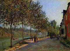 Alfred Sisley - June Morning in Saint Mammes, 1884 at Bridgestone Museum of Art Tokyo Japan (mbell1975) Tags: tokyo tokyoprefecture japan jp alfred sisley june morning saint mammes 1884 bridgestone museum art museo musée musee muzeum museu musum müze museet finearts gallery gallerie beauxarts beaux galleria painting impression impressionist impressionism french