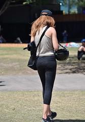 Time to Go (Scott 97006) Tags: woman female lady walk derrier backside rear pretty