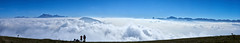 into a sea of clouds (prakharamba) Tags: saint jean le vaulx saintjeanlevaulx clouds mountains peak vercors nuage panorama alps france grenoble isere nikon d750