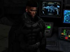 Gotham is Mine (P r i m i t i v) Tags: sl secondlife batman dc dark knight hero comics dceu rises begins shadows halloween