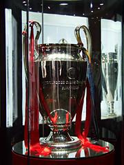 Five Times!  Anfield, Liverpool, England (teresue) Tags: 2017 uk unitedkingdom greatbritain england liverpool merseyside anfield lfc liverpoolfootballclub oldbigears championsleague trophy football liverpoolfc