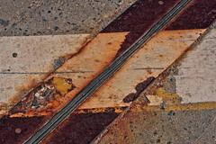 RUSTY CRUSTY DIAGONAL LINE (gianmaria.colognese) Tags: diagonal rusty crusty ruggine linea materia
