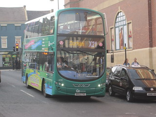 Go North East 6081 (NK62 FKG). Eldon Square Bus Station, Newcastle