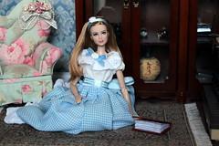 Tris Divergent Doll (Gulya_Deanna) Tags: trisdivergent barbie mattel fashiondoll dollphotography diorama dollshouse