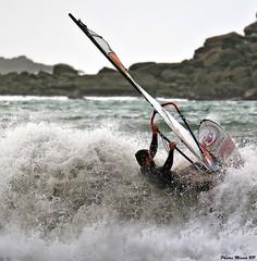 Photos Marco BP (39) (marcbihanpoudec) Tags: plancheàvoile porspoder vent presquiledesaintlaurent vagues