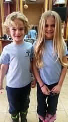 Everett & Violet After Their Haircuts (Joe Shlabotnik) Tags: march2018 cameraphone 2018 violet everett galaxys5