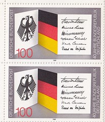 Deutsche Briefmarken (micky the pixel) Tags: briefmarke stamp ephemera deutschland bundespost