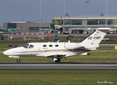 GlobeAir Cessna 510 Citation Mustang OE-FNP (birrlad) Tags: dublin dub international airport ireland aircraft aviation airplane airplanes bizjet private passenger jet takeoff departure departing runway oefnp cessna citation mustang c510 globeair ag dreamteam