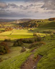 Castleton, Peak District (S.R.Murphy) Tags: autumn castleton derbyshire landscape mamtor oct2018 peakdistrict urbanlandscape colour autumncolours fujifilmxt2 leefilters lee06ndgrad fields grass farming agriculture fujifilmxf1024mm flickrexplore30102018 england sky field