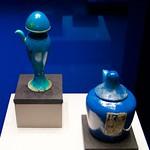 King Tutankhamun's tomb goods: blue Faience containers DSC_0891 thumbnail