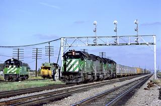 BN SD40-2 8117