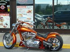 Waiting for its owner_0015 (Steven Czitronyi) Tags: motorcycle custom bike