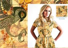 Soar like an Eagle (MimiPintoArt) Tags: dress pattern sewing create craft handmade fabric falcon eagle bird makers stash