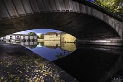 Reflection in Petit France - Strasbourg - Alsace - France (R.Smrekar-CH) Tags: river bridge city reflection 000100 d750 smrekar 2018 france
