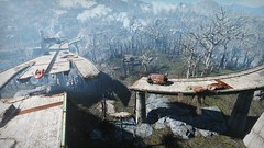 Fallout 4 - Wasteland (screenreel) Tags: fallout4 bethesda graphics digitalart engine trees road light sky sun grass vehicle clouds postapocalypse wasteland radiation day forest wood rock tree bridge park horizon