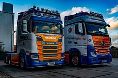 S650 & Giga 630 @ Beverwijk . (Rab,Driver of P300NJB @Grampian Continental..) Tags: beverwijk northholland netherlands nl