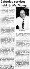 1971 - John Mougin obit