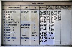I_B_IMG_0403 (florian_grupp) Tags: asia myanmar burma train railway railroad semaphore signal british bago pegu myanmarailways southeast metergauge metregauge 1000mm diesel locomotive
