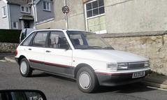 1987 Austin Maestro 1300L (occama) Tags: e370lel 1987 austin maestro 1300l old car cornwall uk british white rover rare