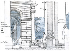 Rome, 2018 (gerard michel) Tags: italia italy roma place sketch croquis