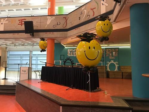 Cloudbuster Rond Folieballon Diplomering Geslaagd Scala Rietvelden Spijkenisse