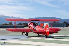 Private Boeing A75N1 N63529 (jbp274) Tags: sns ksns airport airplanes airshow display biplane boeing stearman model75 pt17 vintage restored