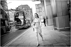 Point and Shoot (Steve Lundqvist) Tags: portrait persone ritratto street road crossroad streetphotography strada women sidewalk english london londra inghilterra england uk britain british life beautiful beauty fashion moda mood attractive hair location contact people cover model atmosphere ambiance seductive young cute lifestyle intimacy boudoir shooting posh beau hairstyle pose posed leica q