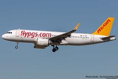 TC-NBG - Airbus A320-251N - Pegasus (MikeSierraPhotography) Tags: air airport cgn cgneddk cologne country deutschland flughafen germany köln spotting town