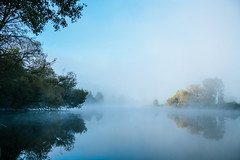 Peace (mripp) Tags: art vintager retro old river floss meditation peace awareness ruhe regenstauf sony alpha 7rii voigtlander nokton 40mm f2 fog weather landscape landschaft
