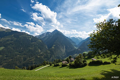 Alpine hike (Piotr Grodzicki) Tags: austria alps landscape mountains sunshine summertime