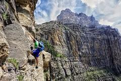 Clavijas de Cotatuero (jaecheve) Tags: cotatuero ordesa clavijas pirineos pirineo pyrenees huesca aragon españa spain montañero