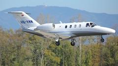 HB-VWM (Breitling Jet Team) Tags: hbvwm nomad aviation euroairport bsl mlh basel flughafen lfsb