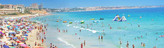 Costa colorida - Colorful coast (Szemeredi Photos/ clevernails) Tags: spain milpalmeras alicante town coast beach holiday people sea sun summer building sand sangria blue love memory fun relaxing panorama landscape beauty visit travel
