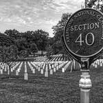 Arlington National Cemetery Section 40 plaque thumbnail