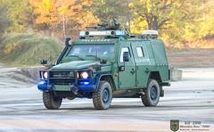 "Mercedes-Benz ENOK "" Version Feldjäger"" (Combat-Camera-Europe) Tags: mb mercedes mercedesbenz benz militär military nato otan bw bundeswehr 4x4 gmodell feldjäger mp militarypolice heer armee army armoured ilü ilü2018 lehrübung munster bergen exercise exercises"