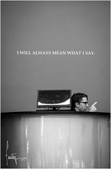I will always mean what I say 2 (Ifastag) Tags: newyork estadosunidos us moma bn bnw nyc ny