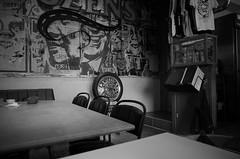 sud cafe (Assy2015) Tags: street cafe city blackwhite monochrome ricoh gr snap