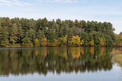 ashleyreservoir2018-159 (gtxjimmy) Tags: ashleyreservoir nikond7500 nikon d7500 newengland holyoke massachusetts autumn fall watersupply reflections reflection hdr