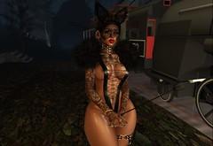 Bad bunny❤️ (Lola Wavy) Tags: photography bunny costume october blogger virtual baddie followforfollow spam secondlife halloween