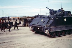 "M113 acav 5/60th Infantry ""Bandido Charlie"" , 9th Infantry Division ""Old Reliables"" (Jerzy Krzemiński) Tags: m113 acav infantry vietnam mechanized minigun xm134"