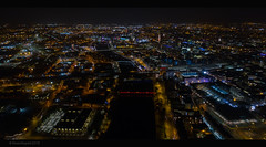 DJI_0242 (Steven Mcgrath (Glesgastef)) Tags: glasgow night shot lights city urban sprawl centre river clyde scotland uk europe european dji phaqntom 4 pro plus phantom