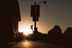San Francisco (spiritofanna) Tags: nacht strase himmel moody gebäude san francisco california sunset sonnenuntergang sony a6000 50mm18 lightroom night sun