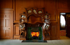 Hearth attack (Matt West) Tags: fire fireplace hearth livingroom lounge warmth home warp room melt heat