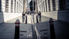 Coached (Sean Batten) Tags: reflection london england unitedkingdom gb vehicle coach nikon d800 35mm streetphotography street pavement person candid shadow light