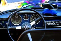 benzina (laird.lothar) Tags: car oldtimer vintage fiat spieder cabriolet 60 1500 dashboard steering wheel italian
