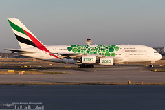 A6-EEW Emirates Airbus A380-861 green Expo 2020 livery (FRA - EDDF - Frankfurt) (Sierra Aviation Photography) Tags: fraport frankfurtairport germany frankfurt fra eddf boeing embraer airbus bombardier planespotting planespotter spotter avionik spotting aviation luftfahrt airline airlines airways airport runway landing departure arrival jet sierraaviationphotography canon 5d eos engine taxiway terminal apron flugzeug aeroporto avião luchthaven vliegtuig luchtvaart airliner jetliner civilaviation aircraft airplane aeroplano sierraaviation 飛機 飞机 الطائرات 航空機 空港 مطار 机场 航空公司 الطيران エアライン 항공회사
